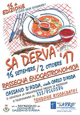 Sa derva dal 16 settembre al 2 ottobre Cassano d'Adda