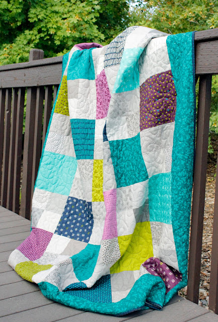 Layer Cake Checkmate quilt