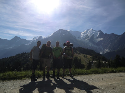 Col de Voza Tour del Mont Blanc