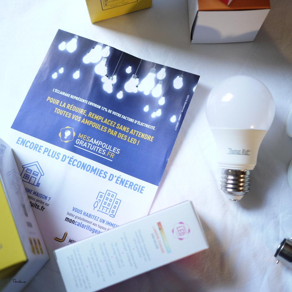"""""""Mes ampoules gratuites"""" - derniers jours pour en profiter ;)"""