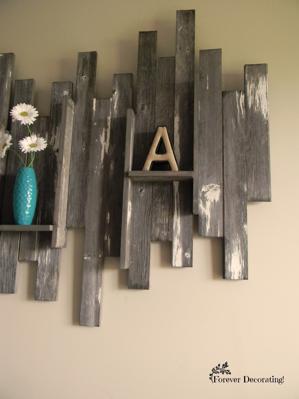 Barn Wood Wall Art Bat