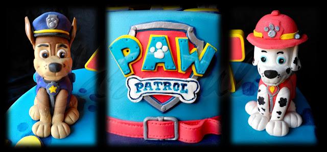 Tarta de la patrulla canina: Detalles