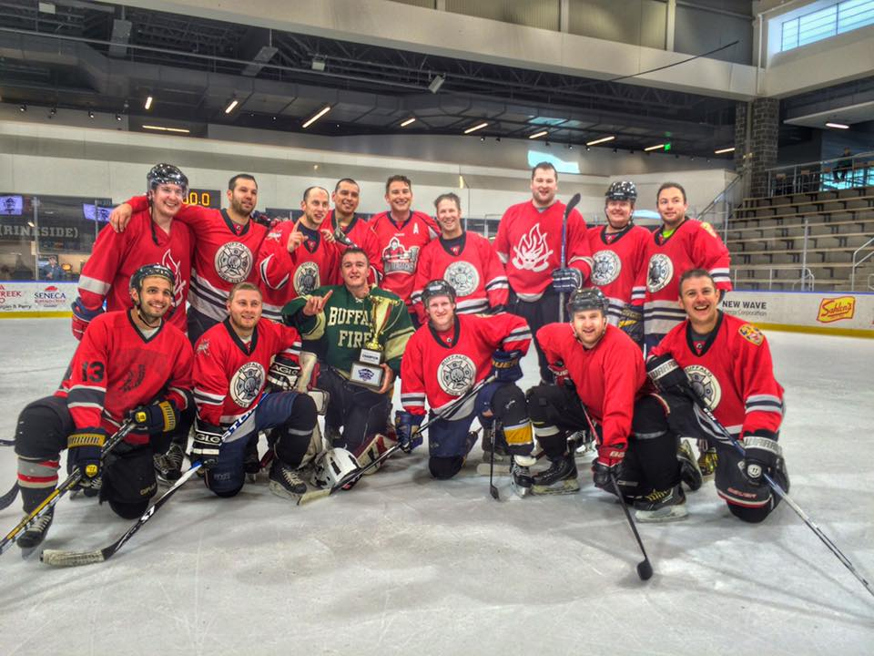 Buffalo Fire Department Wins Hockey Tournament All Wny News