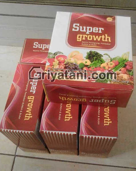 pupuk daun Super growth