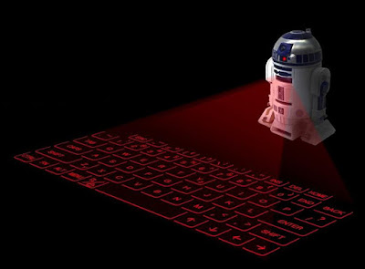 R2 D2 Virtual Keyboard