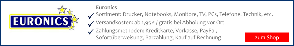 Euronics Laptop und Notebook auf Rechnung bestellen und sicher kaufen