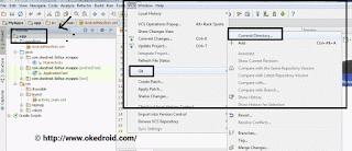 VCS lagi > Git >  Commit Directory.