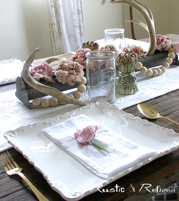 pretty white dishes