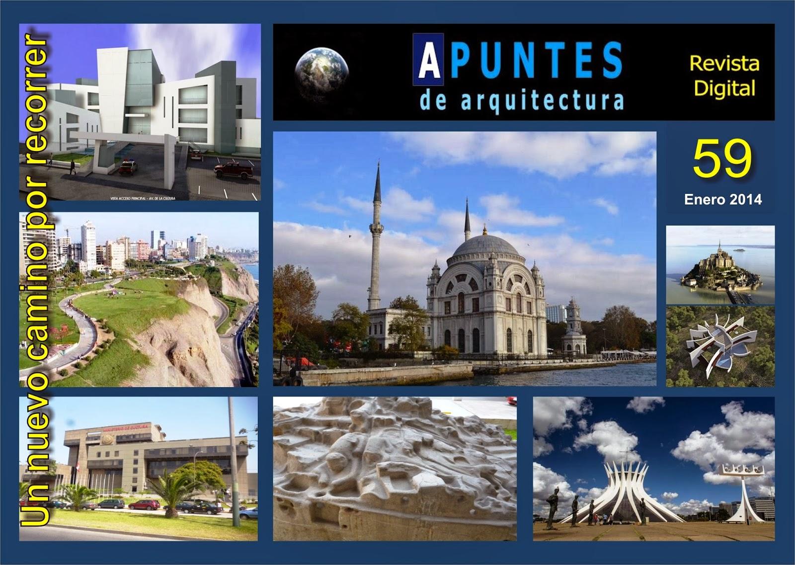 Apuntes Revista Digital De Arquitectura Enero 2014