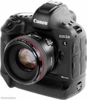 kamera Canon 1DX Andalan canon dirilis tahun 2011