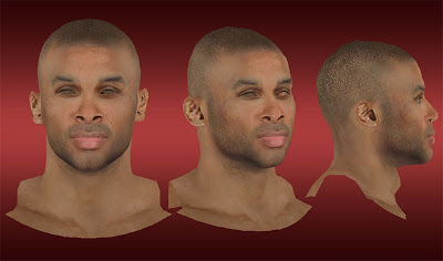 NBA 2K13 P. J. Tucker Cyberface Mod