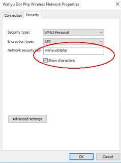Cara melihat password WiFi di Windows ketika lupa