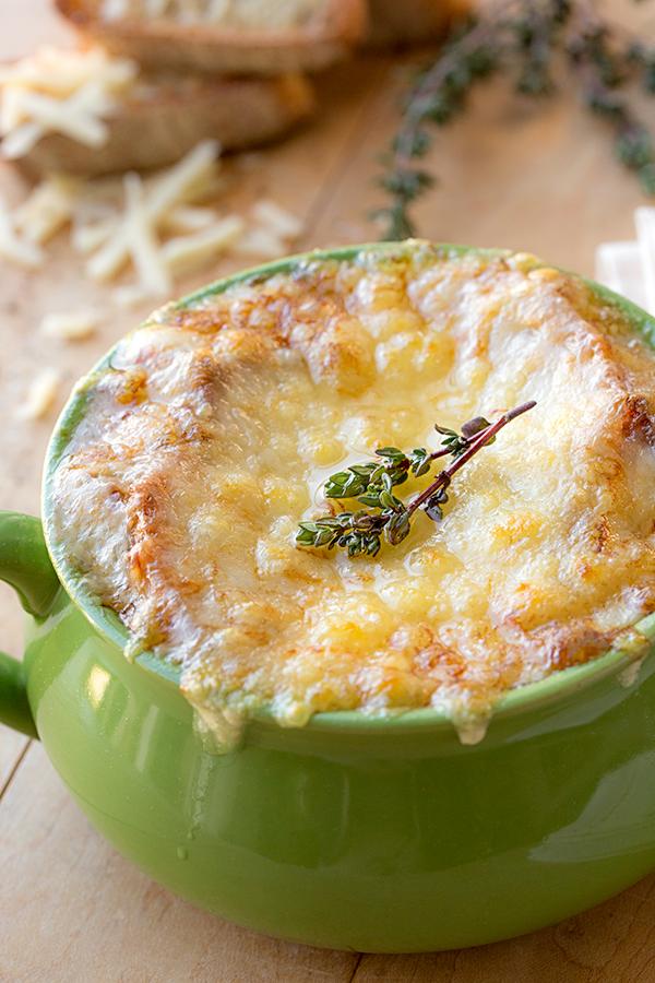 Classic French Onion Soup #Recipe