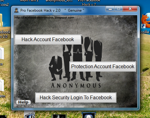Anonymous dDoS Attack Tools Download: Pro Facebook Hack