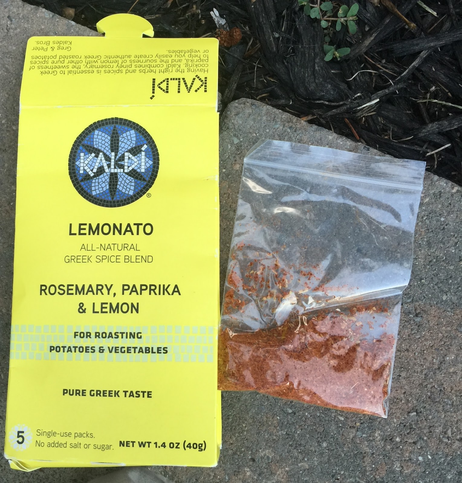 b1d9a817c738 The Lemonato added a spicy (garlic, mustardy-rosemary) -citrusy (lemon oil)  umph to steamed vegetables...and fab for grilling---vegetables or  fish...$4.99