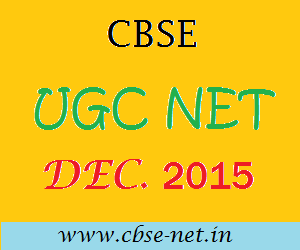image : CBSE UGC NET DEC 2015