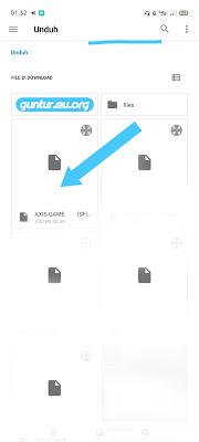 pilih file confiq yang didownload lalu import aplikasi napsternetv