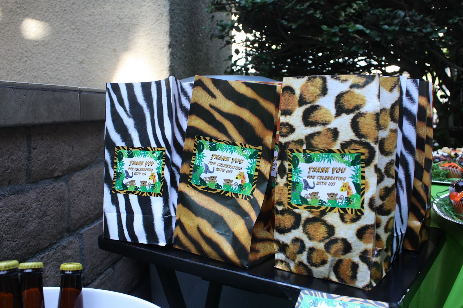 Jungle Themed First Birthday Party Fab Everyday