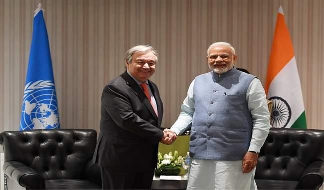 जलवायु परिवर्तन वार्ता में जिम्मेदार भूमिका निभाएगा भारत : मोदी