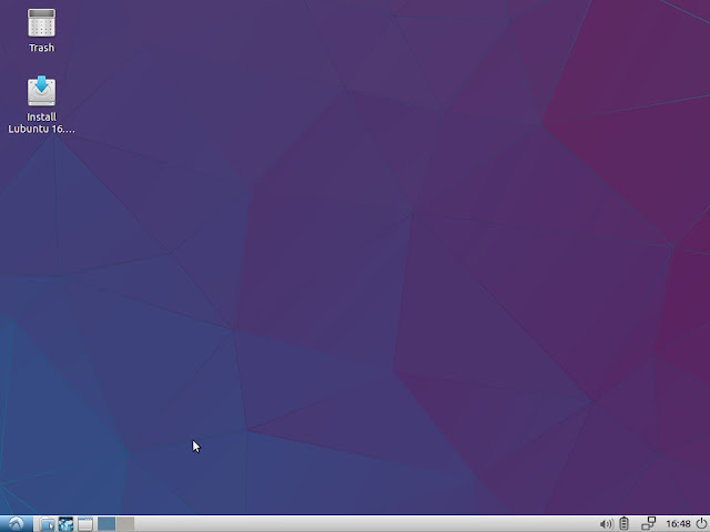 Lubuntu LXDE Desktop - First impression