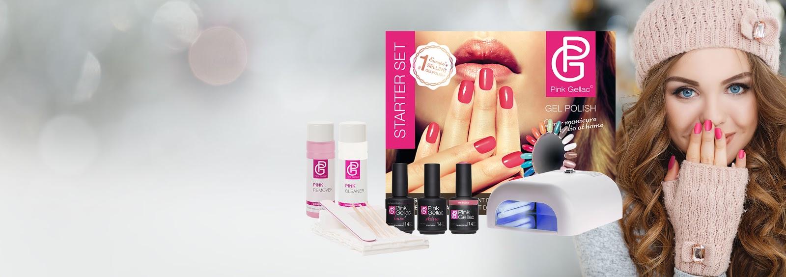 Pink gellac o como hacer una manicura permanente en casa cosmetica de olga - Manicura semipermanente en casa ...