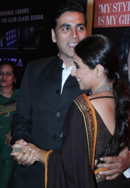 Vidya Balan With Akshay Kumar Exclusive Photos