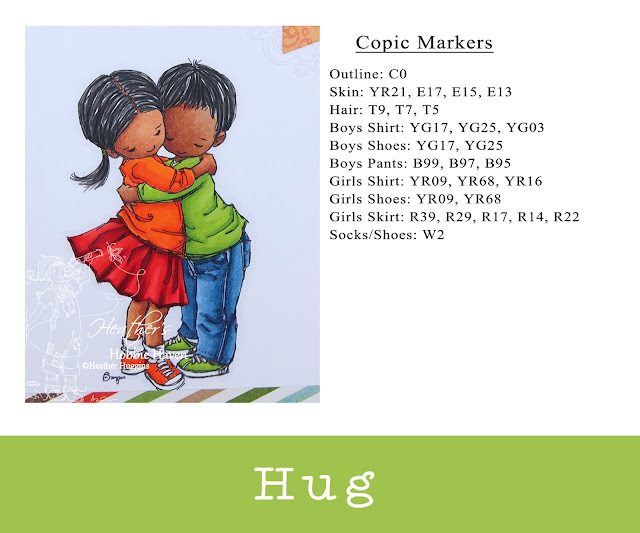 Heather's Hobbie Haven - Mo's Digital Pencil - Hug - Darker Skin Tone