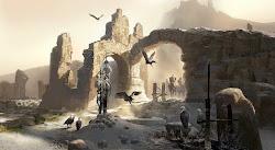 fantasy concept illustration ruins eberron kingdoms 5th ancient saltmine relic edition history lore cyre kingdom pathfinder mourning artist war tales