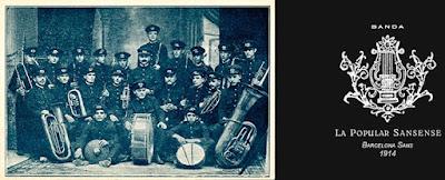 La popular Sansense, banda, música