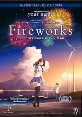 """Fireworks / """"Uchiage Hanabi, Shita Kara Miru ka? Yoko Kara Miru ka?"""" en cines el 20 de abril."""
