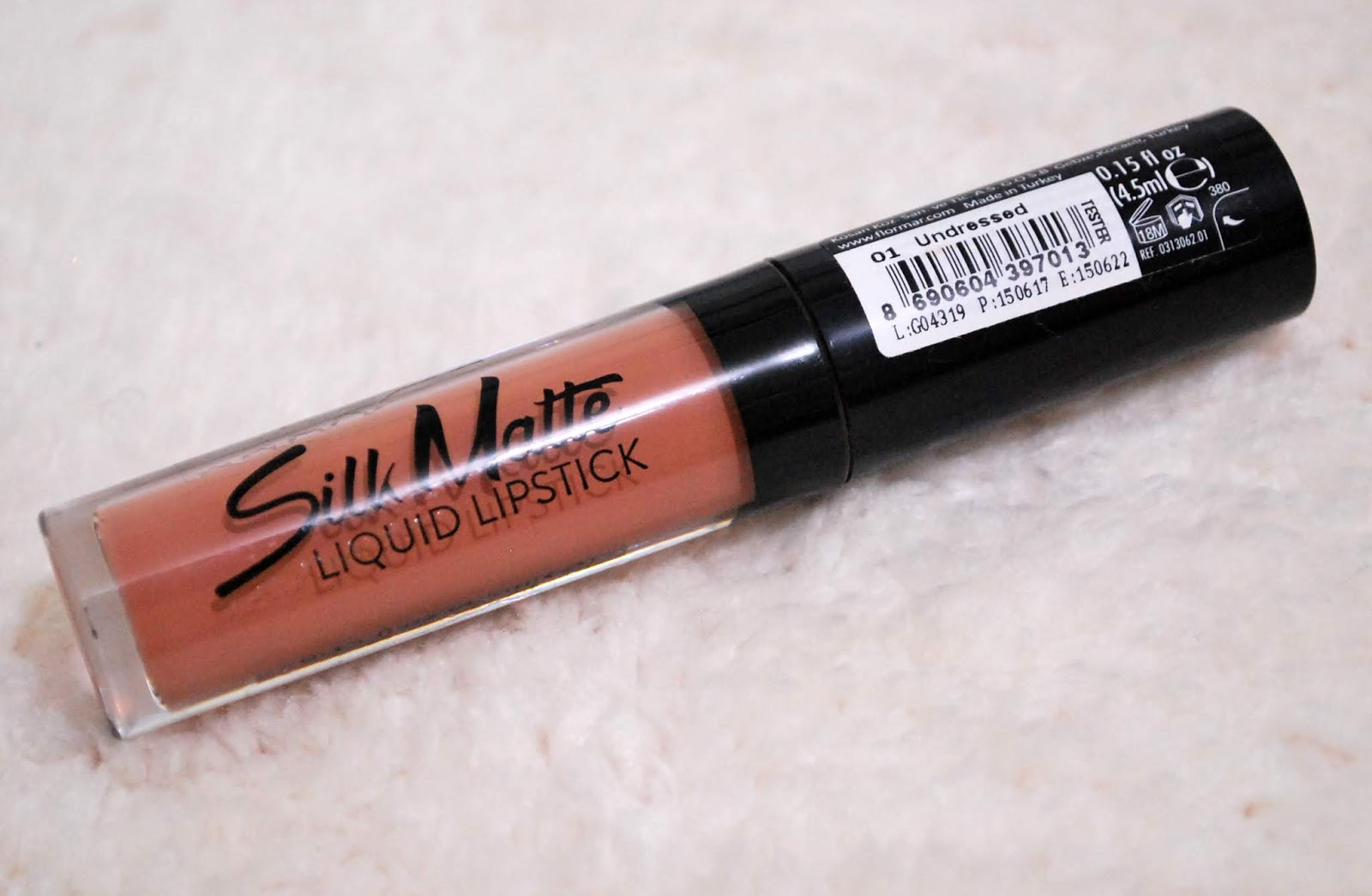 ef725f631f Peachy Pink Sisters: Flormar Silk Matte Liquid Lipstick in Undressed