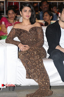 Actress Shruthi Hassan Pictures in Long Dress at Premam Movie Audio Launch  0119.JPG