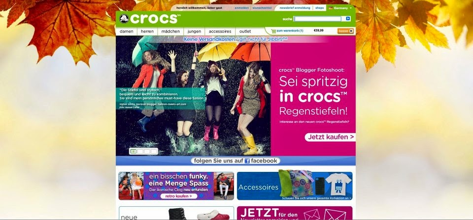 crocs campaign model myberlinfashion