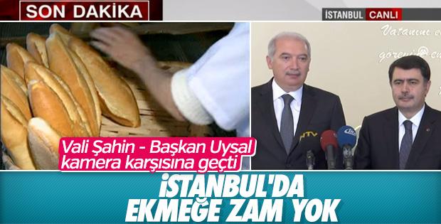 İstanbul'da Ekmek Fiyatında Değişiklik Yok