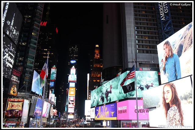 New Year eve ball drop, NYC