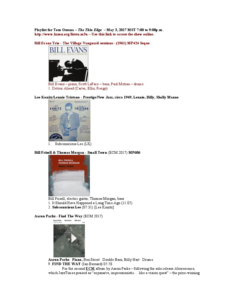 Republic Of Jazz May 2 2017 In Addition Henry Kaiser Guitar Furthermore Electric Wiring Http Kzmuorg Listenm3u Use This Link To Access The Show Online