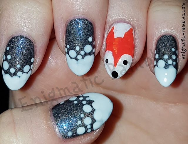 Fox-Snow-Winter-Nails