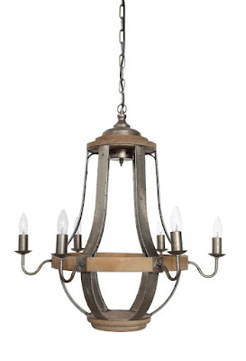 New Home Lighting Options-Farmhouse-French Country-Rustic-Dining Room-Chandelier-From My Front Porch To Yours