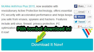 McAfee Anti Virus Plus 2015 Full Seharga $13.99 Gratis dan Legal
