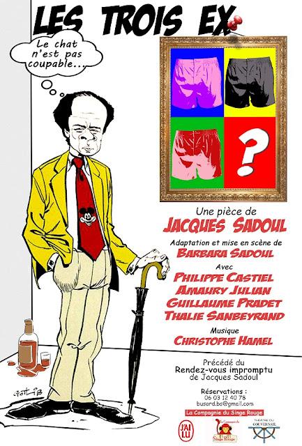 Les 3 ex de Jacques Sadoul