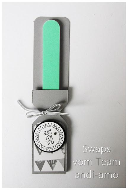 Stampin Up Team-Swaps andi-amo Verpackung Feile