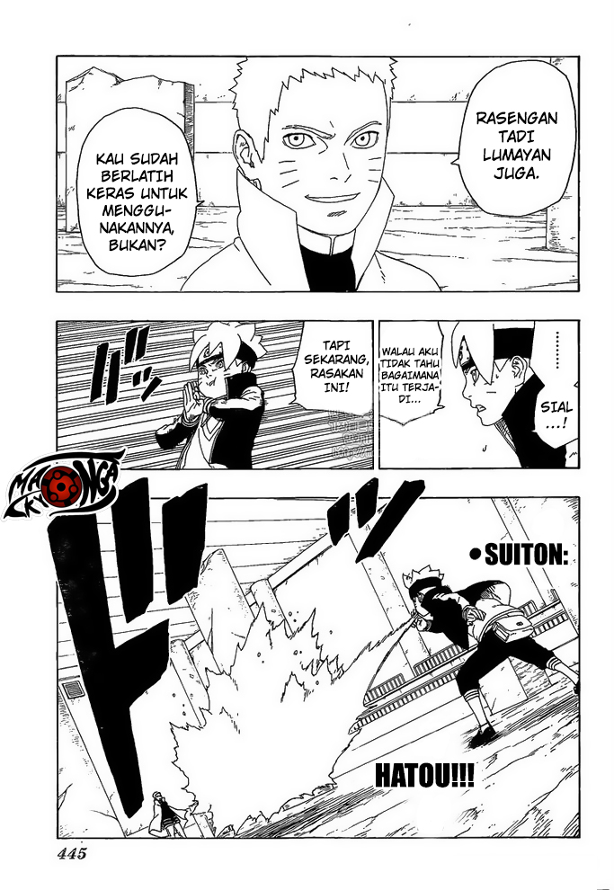 Boruto Chapter 16-26