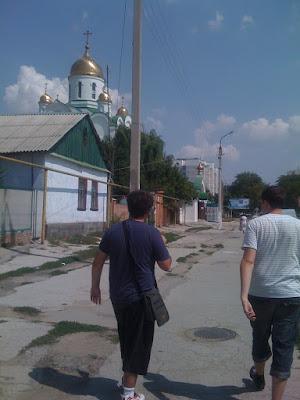 Iglesia de Tiraspol Transnistria