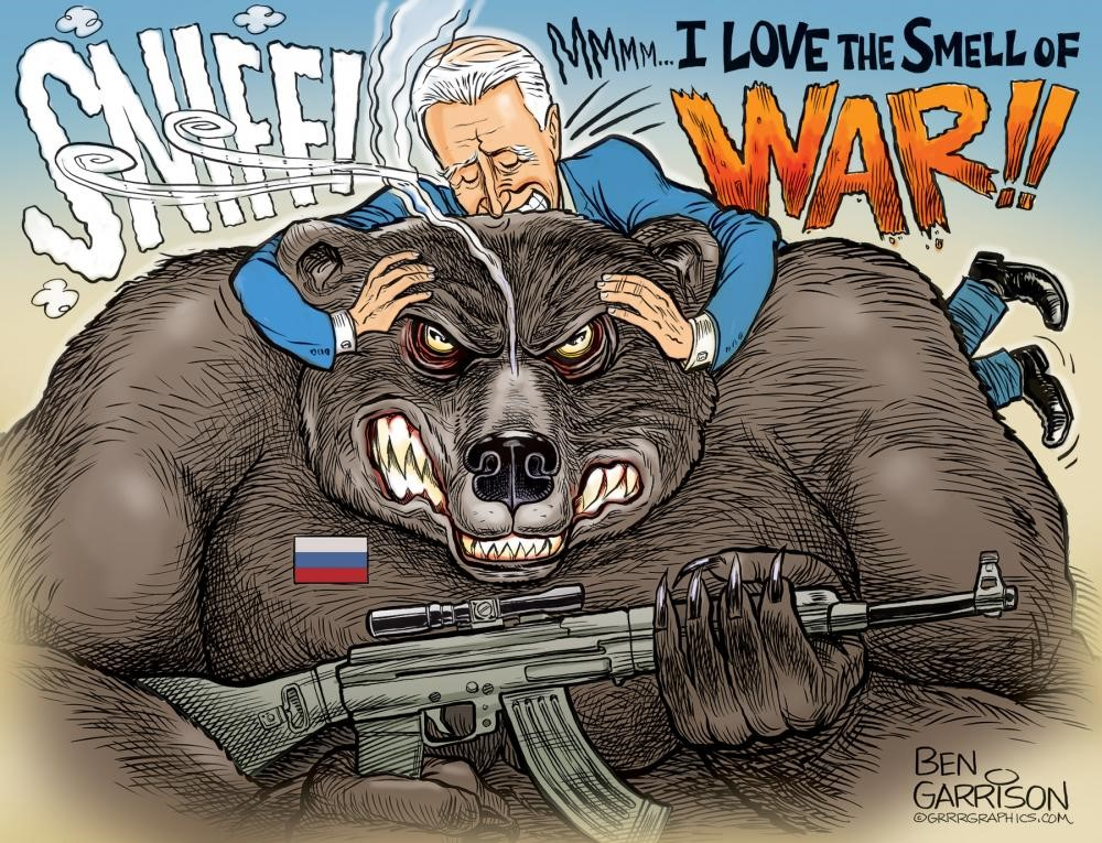 Stop Sniffing the Bear, Joe!