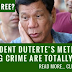 President Duterte's Methods Are Totally…