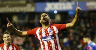 ملخص واهداف مباراة أتلتيكو مدريد وإشبيلية [1-3][23-1-2018]  كأس ملك إسبانيا