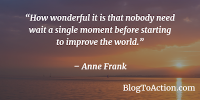 A great quote to share!  #PositiveQuotes #BlogToAction