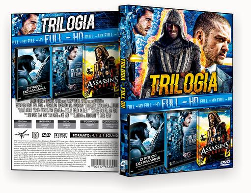 CAPA DVD – Trilogia FULL HD vol.10 – DVD-R