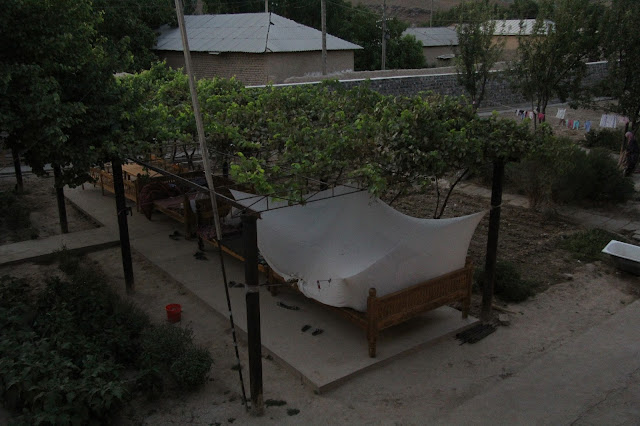 Ouzbékistan, Derbent, tapchane, tapshan, gastinitsa Shavkat, © L. Gigout, 2012