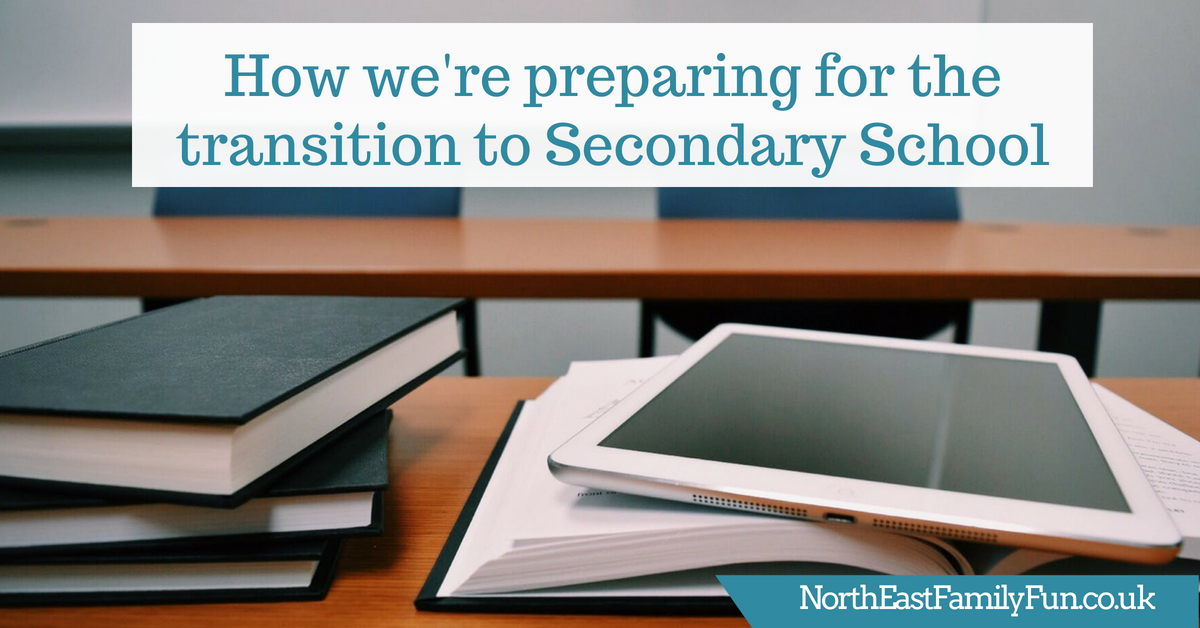Harry's last term in Primary School - How we're preparing for the transition to Secondary School